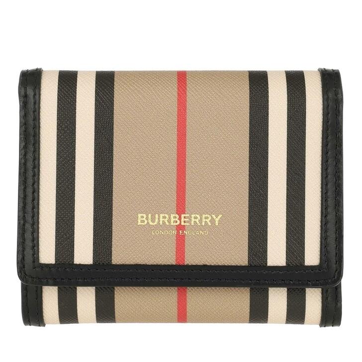 Geldbörse, Burberry, Small Logo Wallet Beige