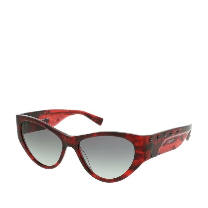 Sonnenbrille, Valentino, Women Sunglasses Individual 0VA4071 Red Havana