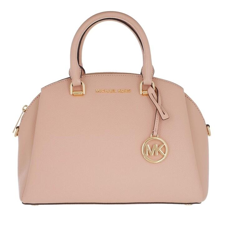 Handtasche, MICHAEL Michael Kors, Medium Dome Satchel Soft Pink