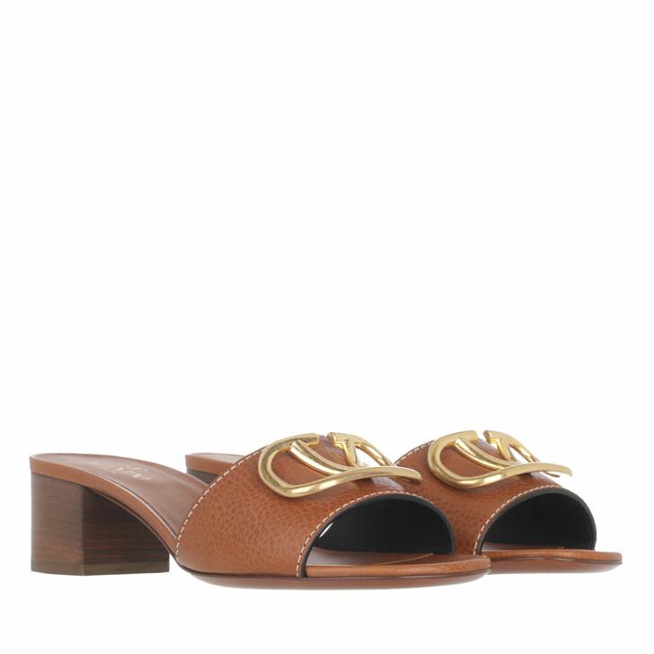 shoes, Valentino Garavani, V Pumps Leather Cuoio
