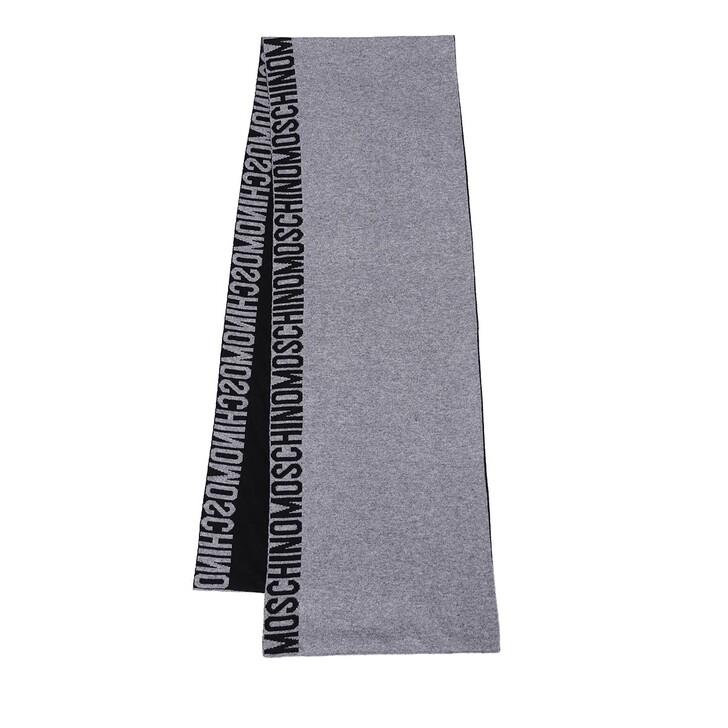 scarves, Moschino, Scarf Grey