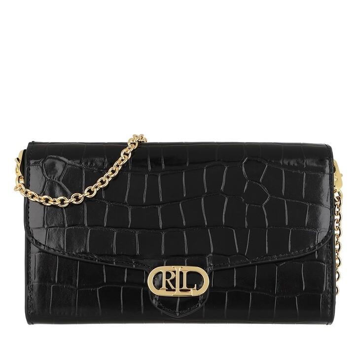 bags, Lauren Ralph Lauren, Adair 20 Crossbody Small Black