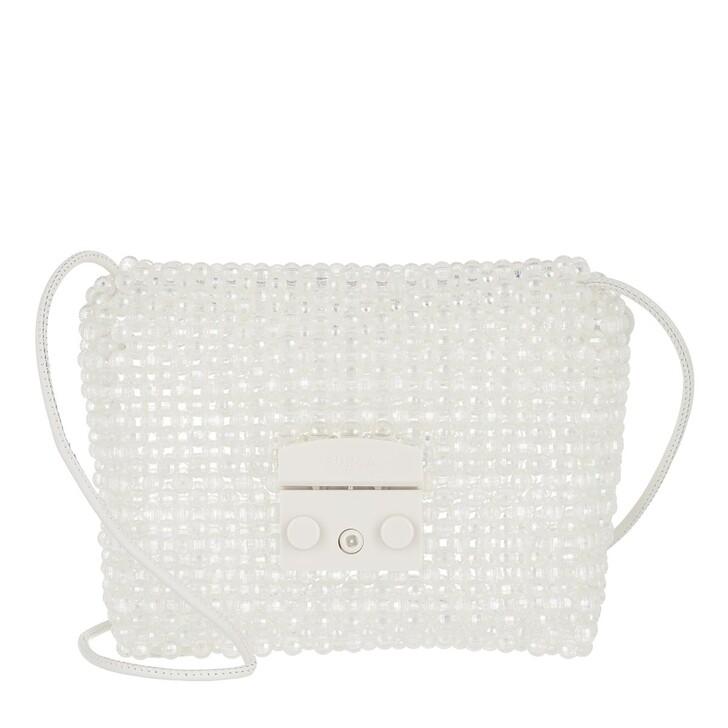 Handtasche, Furla, Metropolis Mini Crossbody - Perline Color Crystal