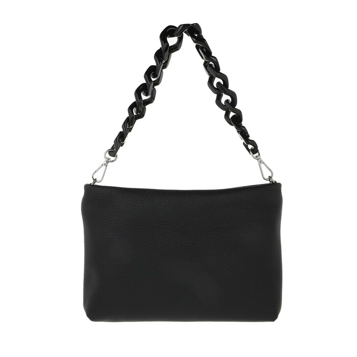 Handtasche, Gianni Chiarini, Small Shoulder Bag Leather Black