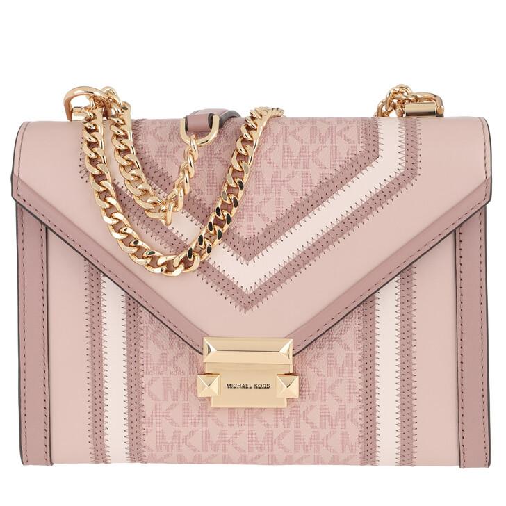 bags, MICHAEL Michael Kors, Whitney LG Shoulder Bag Ballet Multi