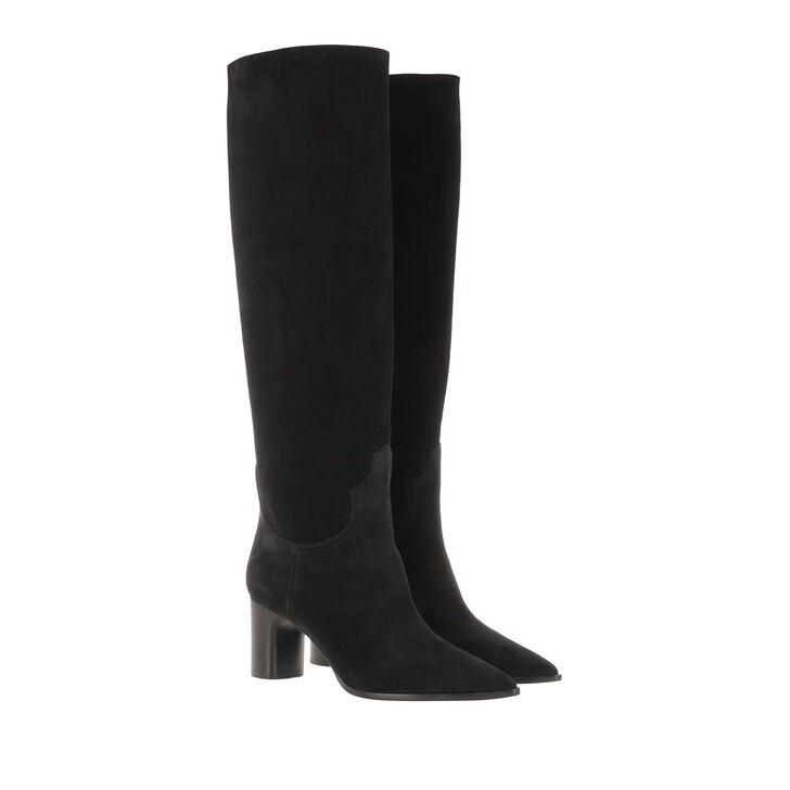 shoes, Casadei, Stivale Kentucky Boots Black
