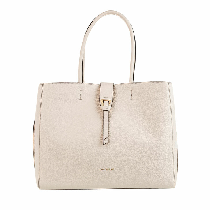 Handtasche, Coccinelle, Alba Shopper Lambskin White