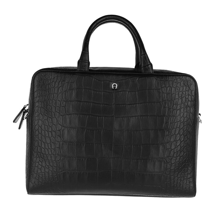 Handtasche, AIGNER, Business Bag   Black