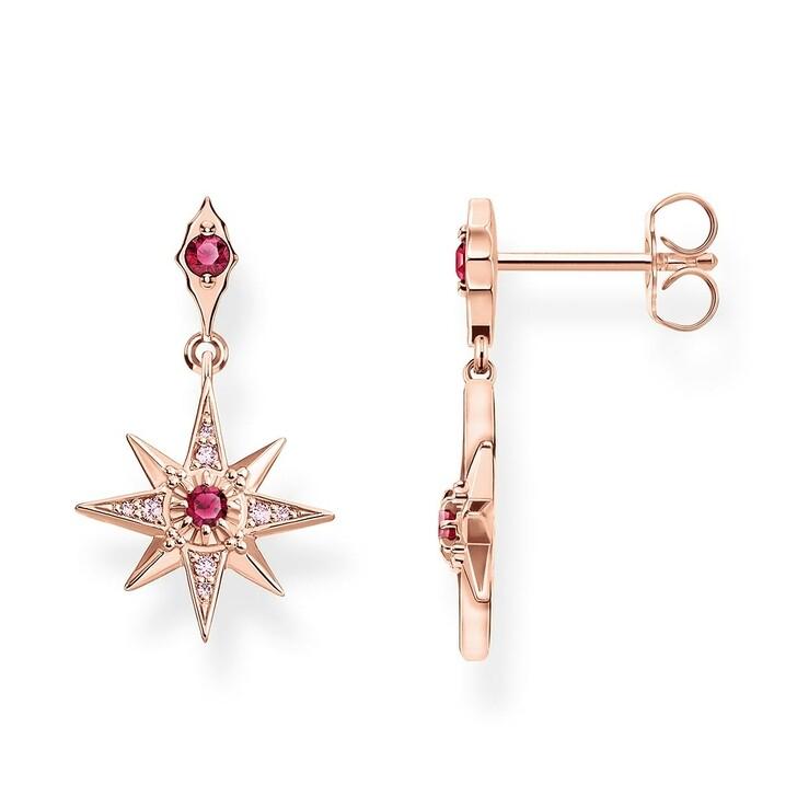 earrings, Thomas Sabo, Earrings Star Rose Gold Pink