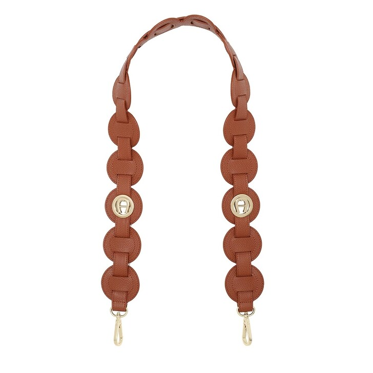straps, AIGNER, Bag Straps 5,5cm Cognac