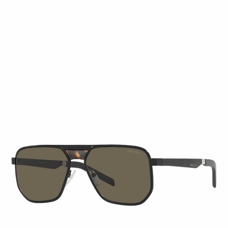 sunglasses, Prada, 0PR 60WS MATTE BLACK