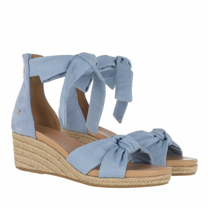 Schuh, UGG, Yarro Sandal Canvas Blue