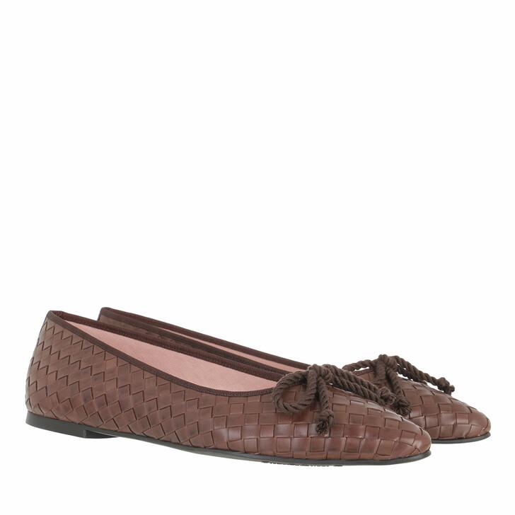 shoes, Pretty Ballerinas, Pat Ballerinas Brown