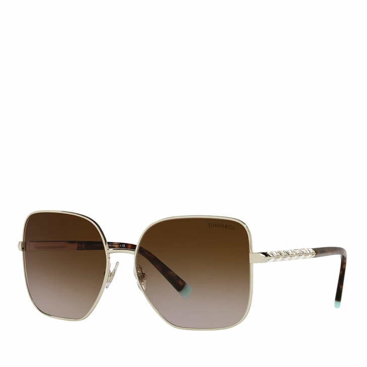 Sonnenbrille, Tiffany & Co., 0TF3078B PALE GOLD
