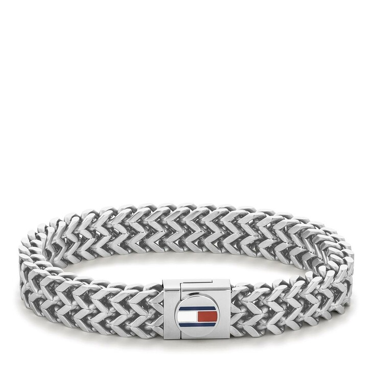 Armreif, Tommy Hilfiger, CASUAL Silber