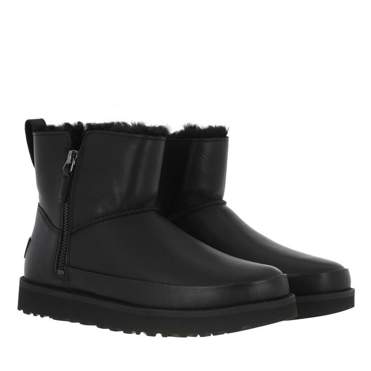 Schuh, UGG, Classic Zip Mini Boot Black
