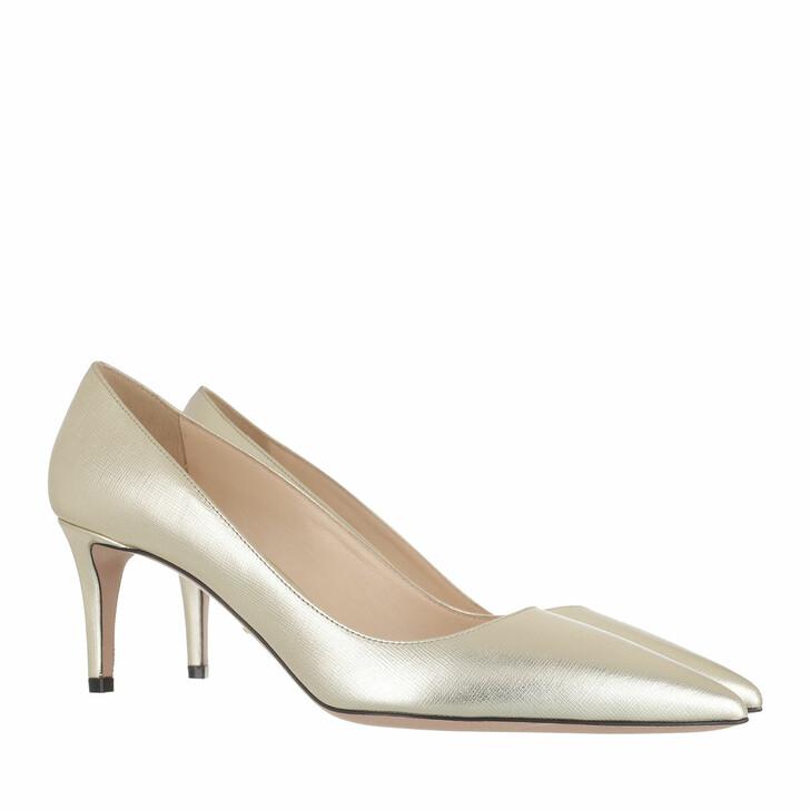 Schuh, Prada, Pumps Gold
