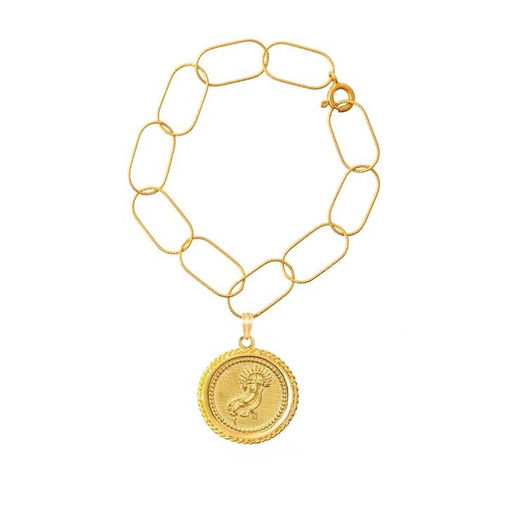 Armreif, Hermina Athens, Amalthea Bracelet Yellow Gold