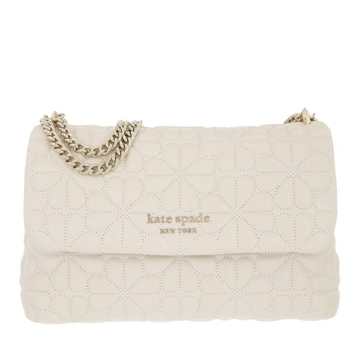 Handtasche, Kate Spade New York, Small Flap Shoulder   Ivory
