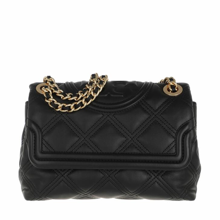 Handtasche, Tory Burch, Fleming Soft Small Convertible Shoulder Bag Black