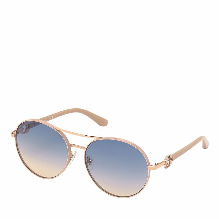 Sonnenbrille, Guess, GU7791-S Rose Gold/Blue