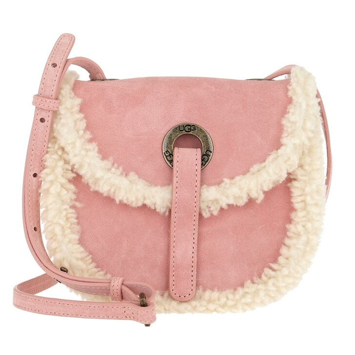 Handtasche, UGG, Heritage Crossbody Bag Suede LA Sunset