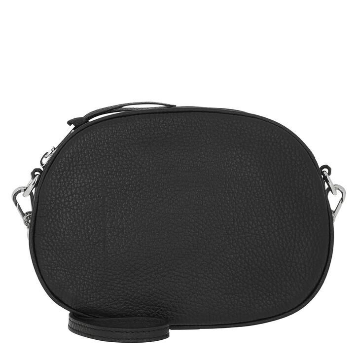 Handtasche, Abro, Crossbody Bag Ay Black Nickel