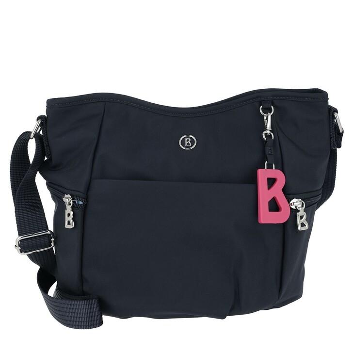 Handtasche, Bogner, Verbier Aria Shoulder Bag Darkblue