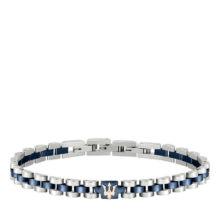Armreif, Maserati, Bracelet  Ip D.+ip Rg Logo 210mm Blue