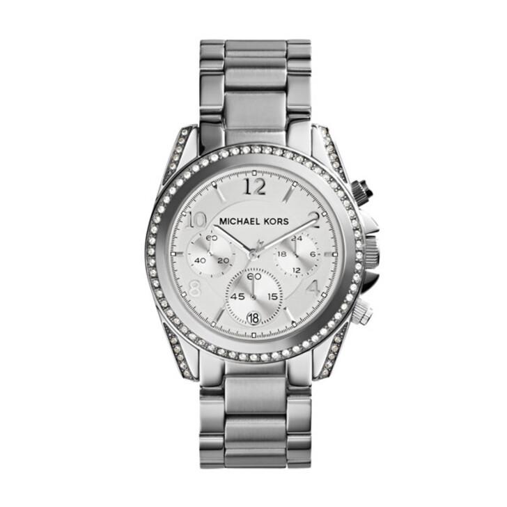 watches, Michael Kors, MK5165 Blair Chronograph Watch Silver