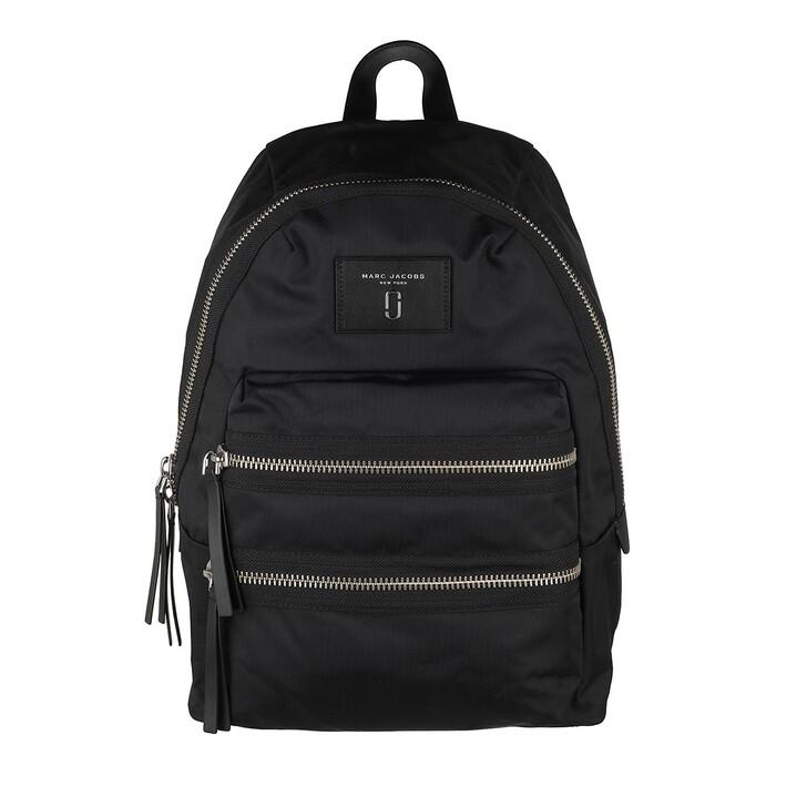 Reisetasche, Marc Jacobs, Biker Backpack Nylon Black