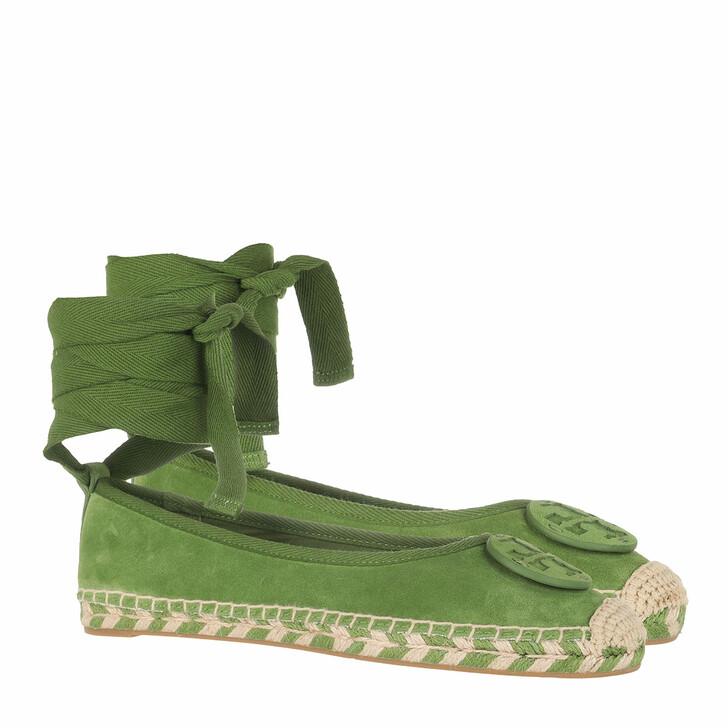 Schuh, Tory Burch, Minnie Ballet Espadrille Green
