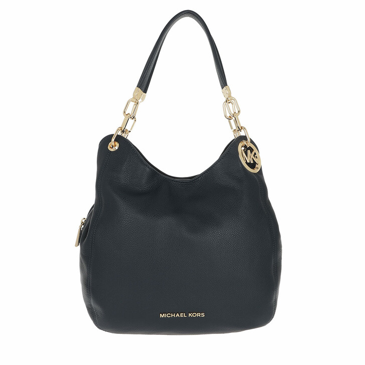 bags, MICHAEL Michael Kors, Lillie Large Chain Shoulder Tote Admiral