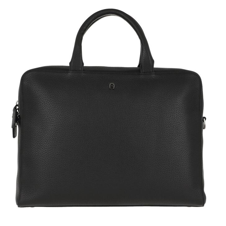 Handtasche, AIGNER, Travel Bag Gun Metal
