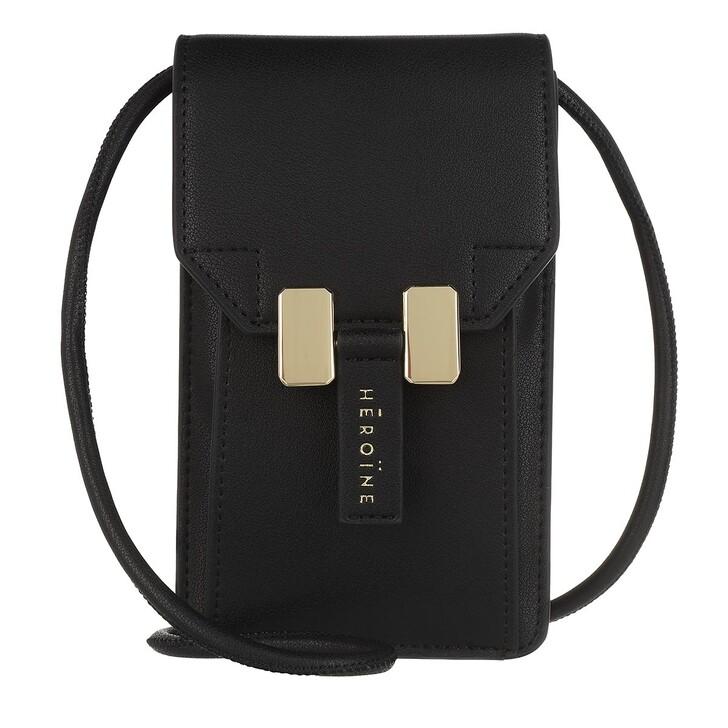 Smartphone/Tablet case (Case), Maison Hēroïne, Romy Phone Bag Black