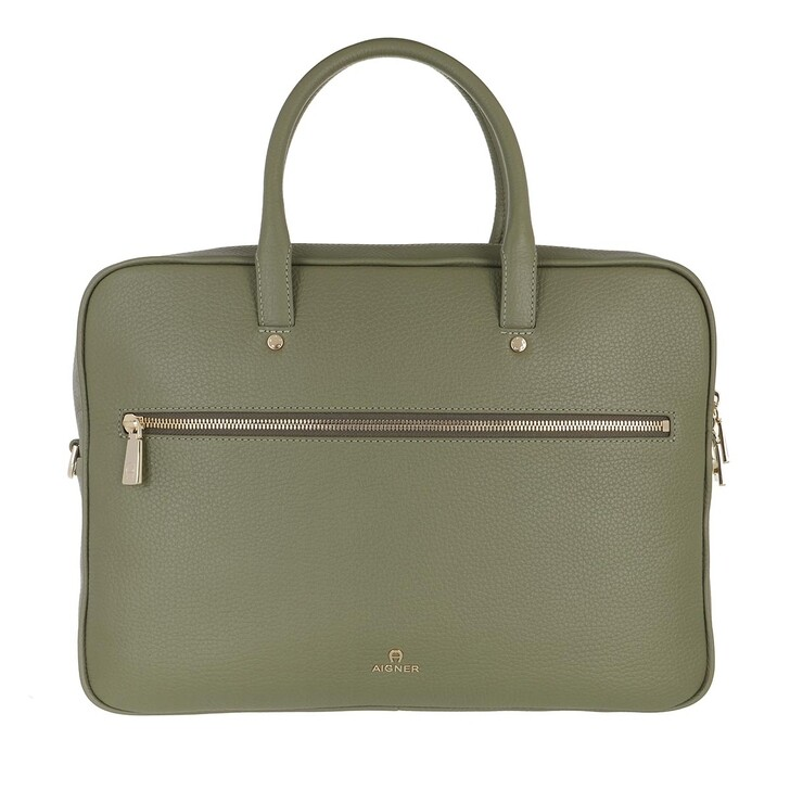 Handtasche, AIGNER, Handle Bag Moss Green