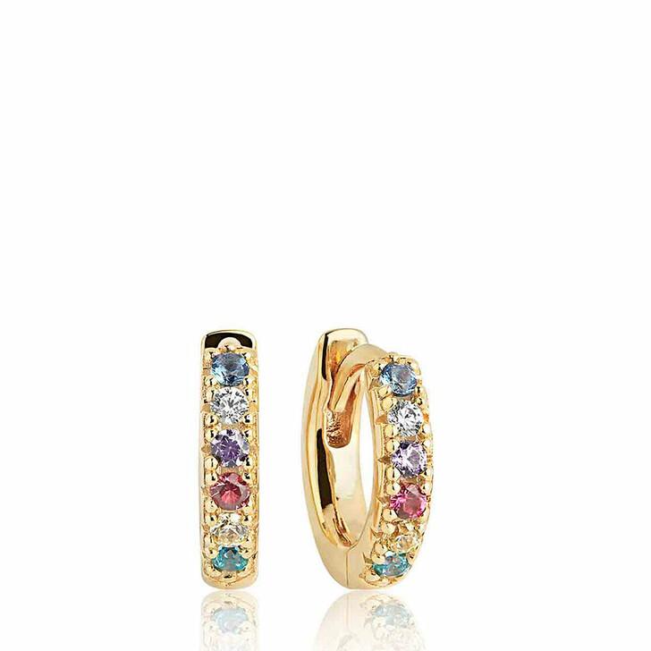 earrings, Sif Jakobs Jewellery, Ellera Piccolo Earrings 18K Yellow Gold Plated