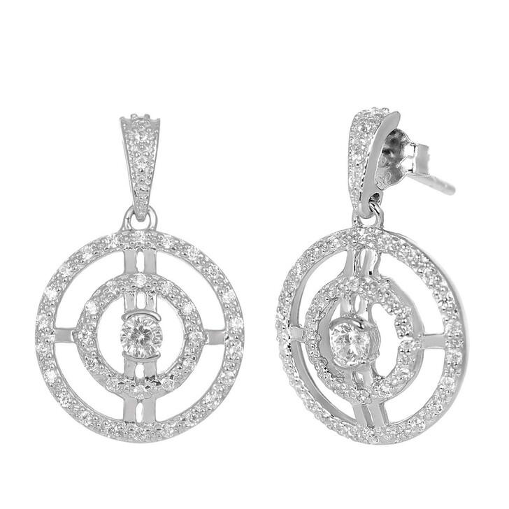 Ohrring, V by Laura Vann, Paloma Earrings  Silver