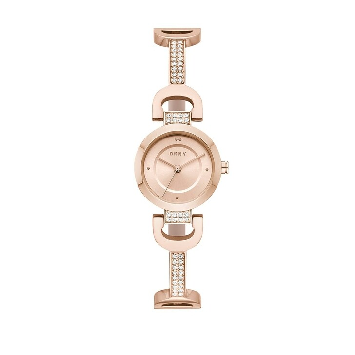 Uhr, DKNY, Watch City Link NY2752 Roségold