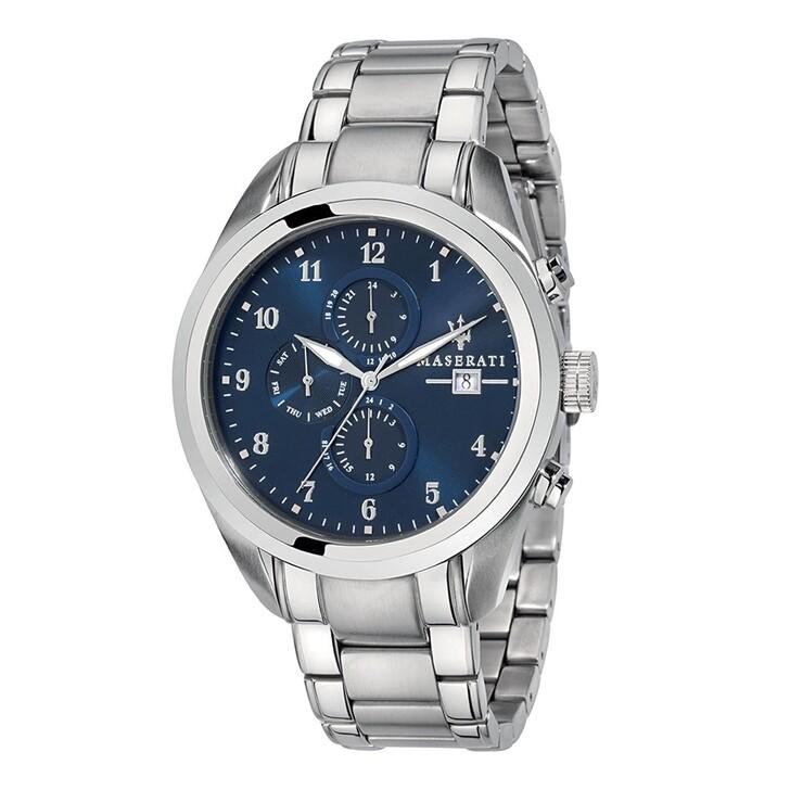 watches, Maserati, Watch Hau Traguardo 45mm Silver/Blue