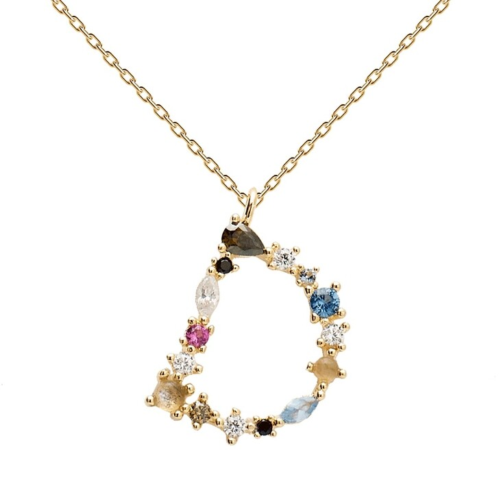 Kette, PDPAOLA, D Necklace Yellow Gold