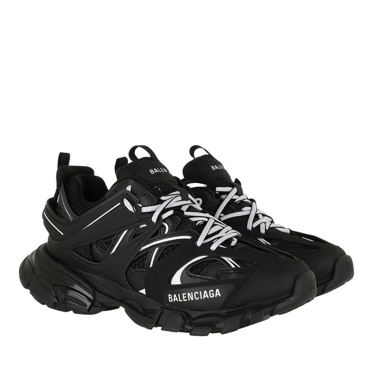 Schuh, Balenciaga, Track Branded Sneakers Black/White