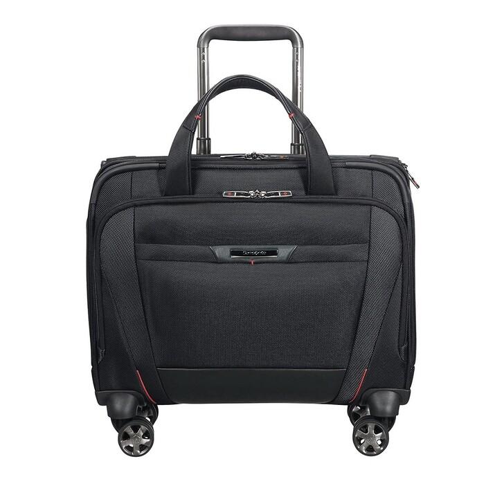 "Handtasche, Samsonite, Pro DLX 15,6"" Laptop Rolling Tote Bag Black"