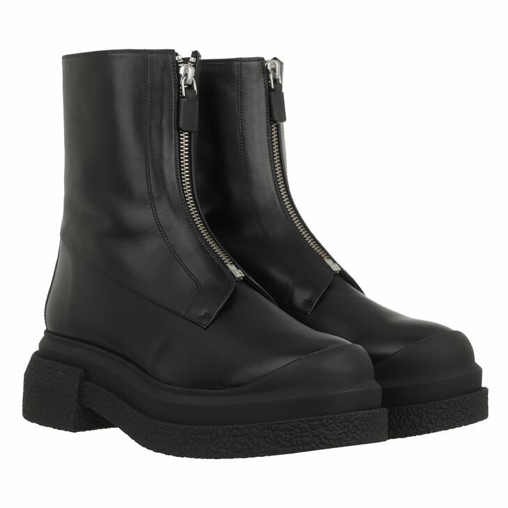 shoes, Stuart Weitzman, Charli Zip Sport Bti Black