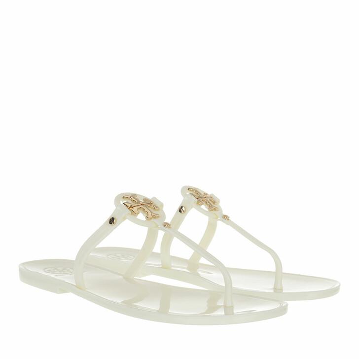 Schuh, Tory Burch, Mini Miller Flat Thong Ivory
