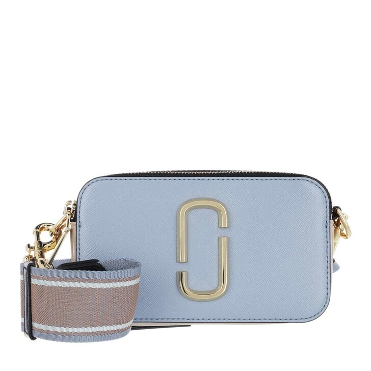 Handtasche, Marc Jacobs, Snapshot Small Camera Bag Skyline Blue/Multi
