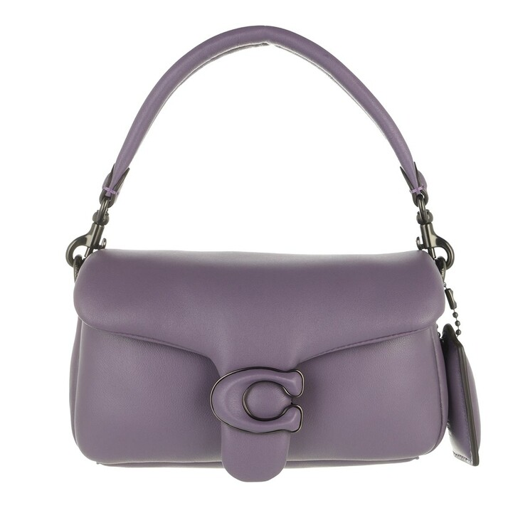 Handtasche, Coach, Leather Covered C Closure Pillow Tabby Shoulder Ba V5/Vintage Purple