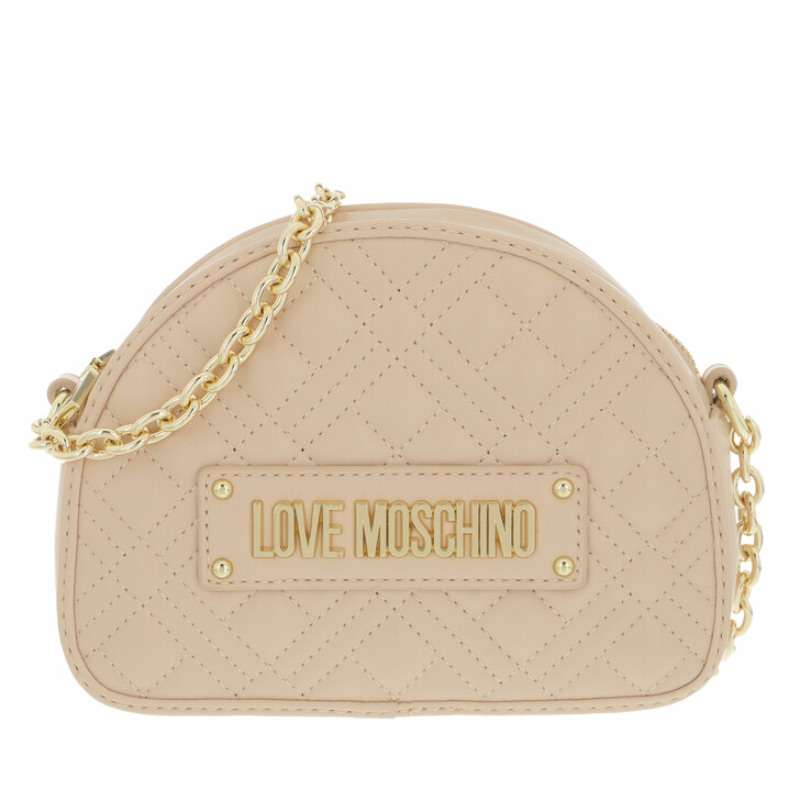 bags, Love Moschino, Borsa Quilted  Pu  Naturale