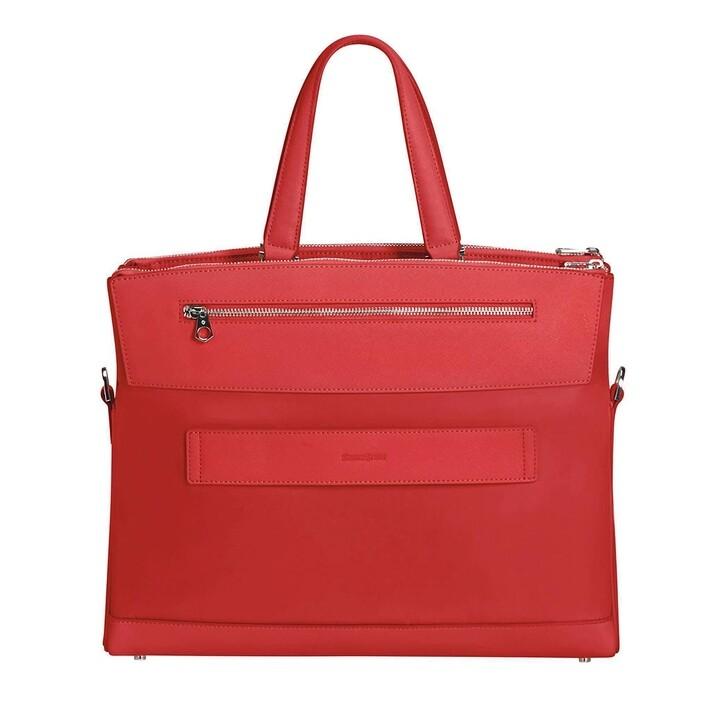 """Handtasche, Samsonite, Zalia 14,1"""" Laptop Balhandle Bag Red"""