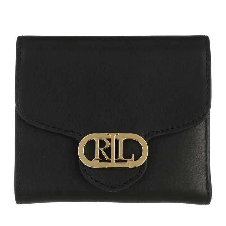 wallets, Lauren Ralph Lauren, Logo Comp Wallet Medium Black